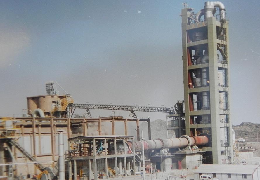 CEMENTOS AVELLANEDA S.A. – San Luis Obra Ampliación y Transformación a Vía Seca – Vista lado quemador