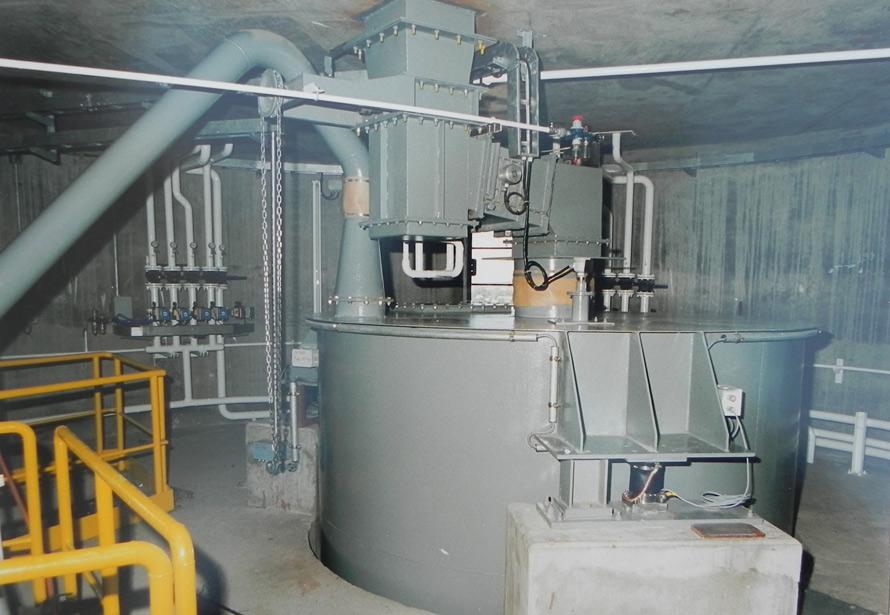 Compañia Uruguaya de Cemento Portland – Dosificación y Pesaje de polvo crudo